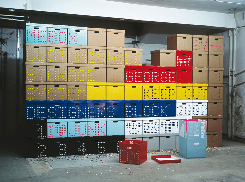 MeBox (Customisible Storage System, 2002)
