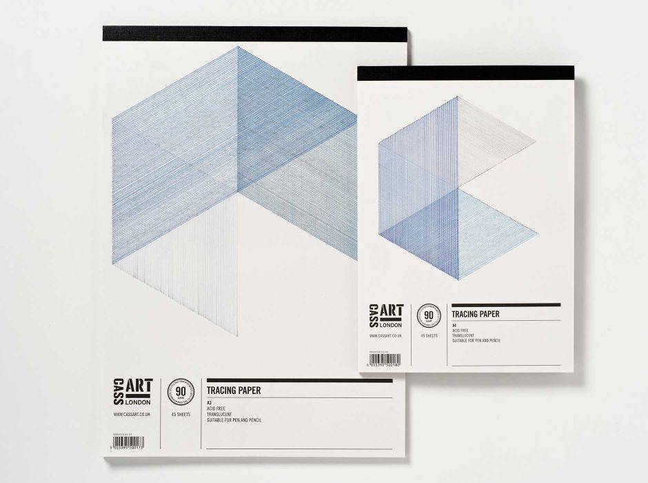 Cass Art, Tracing Paper Pads(cover)