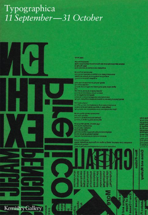 Typographica exhibition at Kemistry Gallery