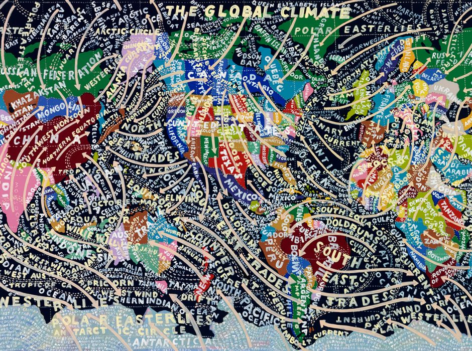 Global Climate (painting, 2008)