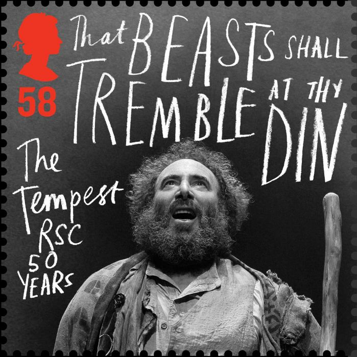 Royal Shakespeare Company stamps