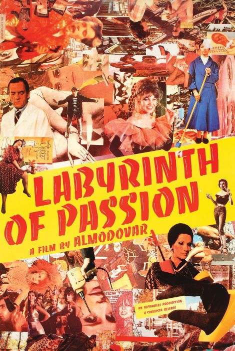Layrinth of Passion (film poster)