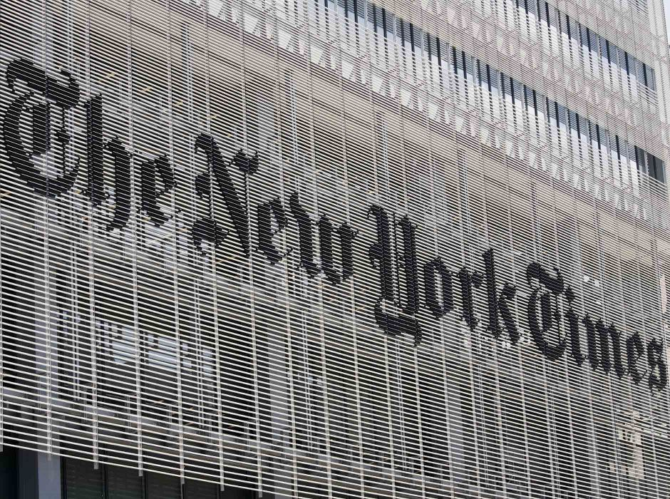 New York Times (signage)