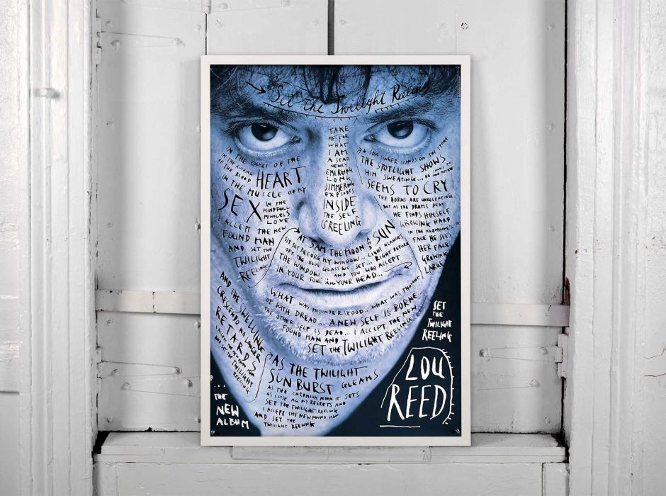 Lou Reed (Poster, 1996)