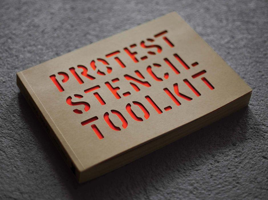 Protest Stencil Toolkit (2011)