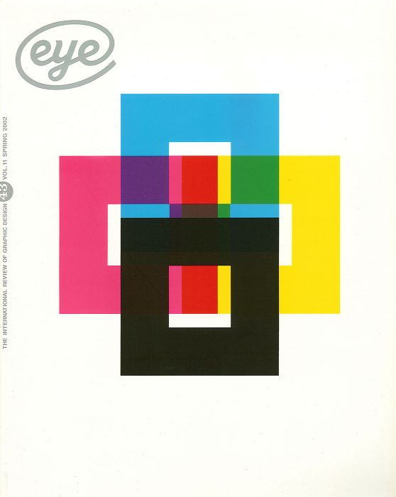 Eye magazine, issue 43, with John L Walters (2002)