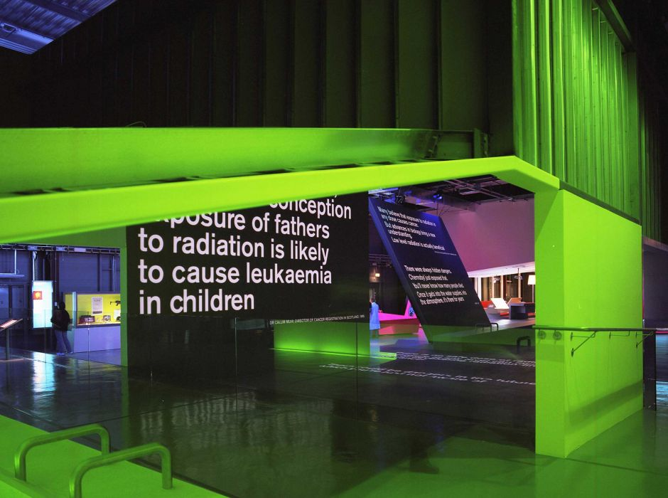 British Nuclear Fuels Visitor's Centre, Cumbria, for Science Museum, with Casson Mann(2002)