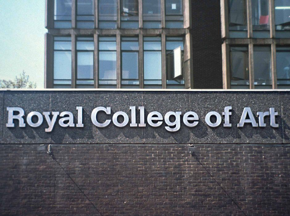 Royal College of Art (sign, 1992)