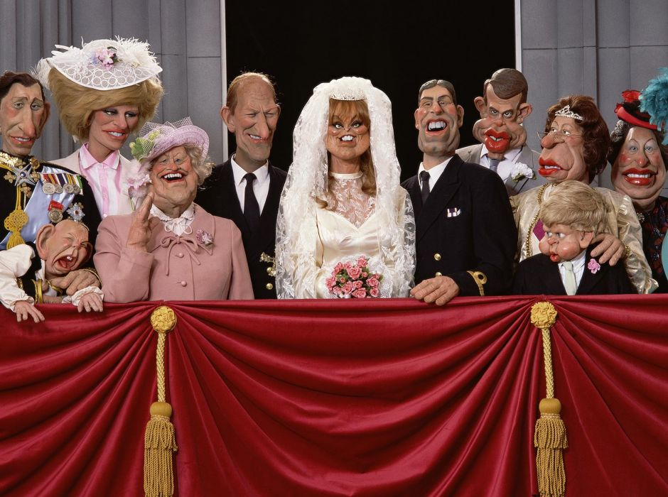 Royals on the Balcony, Spitting Image